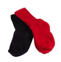 Носки синие и красные