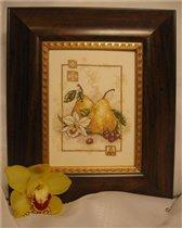 'Груши и орхидея'