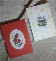 открытки дочкам на 8 Марта
