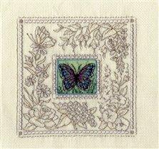 Экзотическая бабочка.