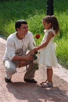 Ты прекрасна словно роза, моя маленькая дочь!