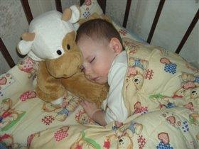 Спящий Димуля.
