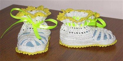 сандалики для принцессы