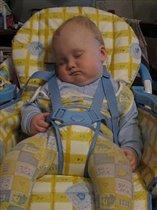 Вот так сладко спят бутузы после вкусно обеда