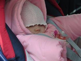 Уснула в машине