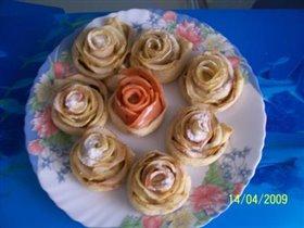 Розы (ябочные и колбасные)