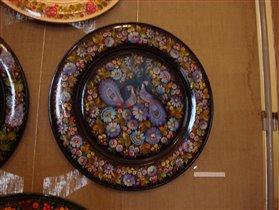 Тарелка расписная