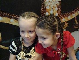 Дашенька и Инночка ( девочкам  6 лет)
