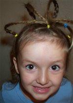 Причёска 'Строение атома'