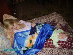 я без мамочки не сплю, я на мамочке посплю :-)