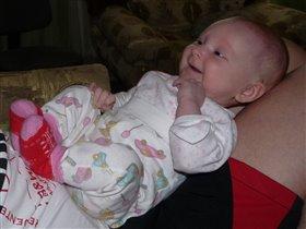 счастливая улыбка малыша