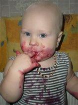 Самая полезная ягодка черника, а еще и очень вкусная!