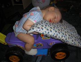подушка безопасности сработала вовремя!