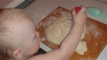мастер-класс по приготовлению пирогов от сынишки