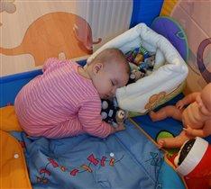 заснула во время игры