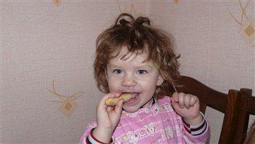 Кушаю печенье