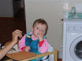 мама, я надеюсь это последняя ложека?