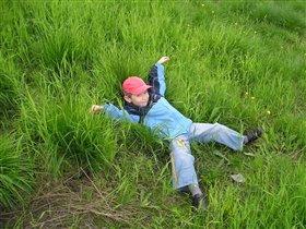 Так вот она какая - зелёная трава!