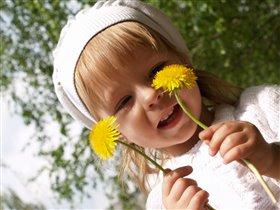 Вот такие желтые цветочки