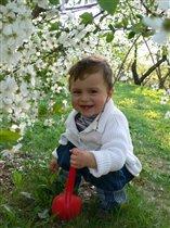 Евгений- наш весенний цветочек