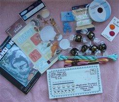 Конвертик и подарки от Ирины Shpinelki