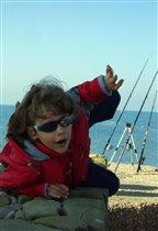 'Первая весенняя рыбалка на море'