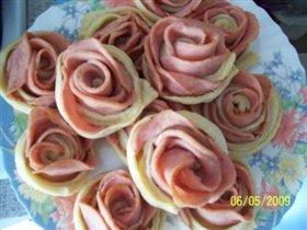 Колбасные розы