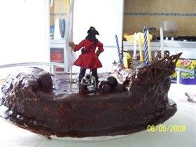 Торт 'Пиратский корабль'