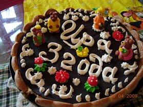 тортик Ира и три медведя к дню рождения дочи