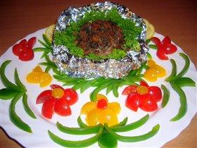 Клефтико - мясо запеченное в фольге.