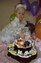 Кто сказала ,что торт вкуснее свечки?:)