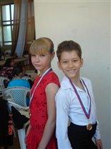 Даша и Влад- наши победители