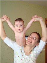 Мы спортивные с рождения)))