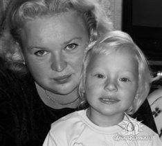 мама с дочуркой