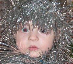 мой первый Новый год(2009г)