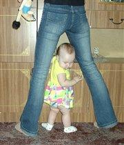 Эххх, когда я вырасту и стану моделью как мама???