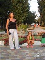 в  Анапе  в  месте  с  мамой