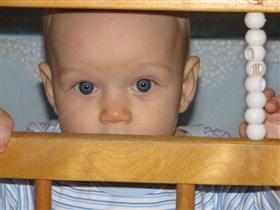 Мои самые родные голубые глазки