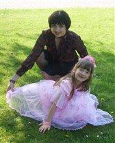 Принцессочка и мама
