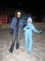 Вместе весело кататься на коньках!
