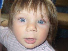Эти глазки, эти голубые глазки...