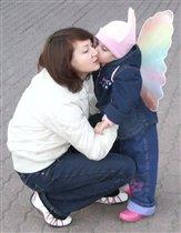 Мамочка и бабочка
