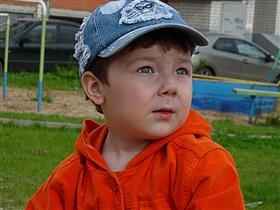 Блеск в глазах моего сыночка