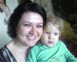 Это мы! Мама Оксана и дочка Юленька!