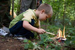 Изучаю свойства огня