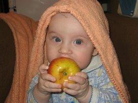 Наконец-то есть, чем есть!!! Можно яблочки поесть!