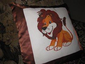 Подушка для сына