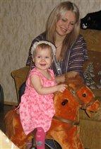 Я люблю свою лошадку....