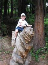 'Путешествовать на медведе? А что,это идея!'