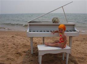 Море, музыка и Танюша